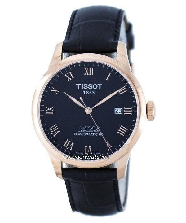 7c9acbf7d Tissot T-Classic Le Locle Powermatic 80 T006.407.36.053.00 T0064073605300  Men's Watch
