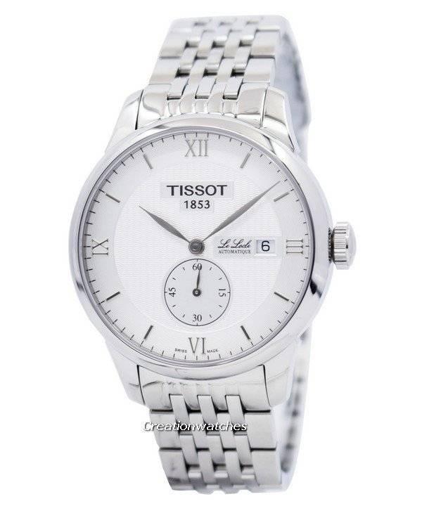 6a5cdc60731 Relógio Tissot T-Classic Le Locle automático Seconde Petite  T006.428.11.038.01 T0064281103801