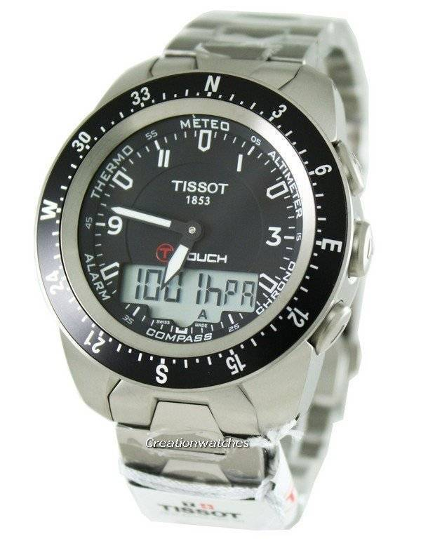 e17ba3346706 Tissot T-Touch Expert Pilot analógico-digital T013.420.44.057.00  T0134204405700 reloj