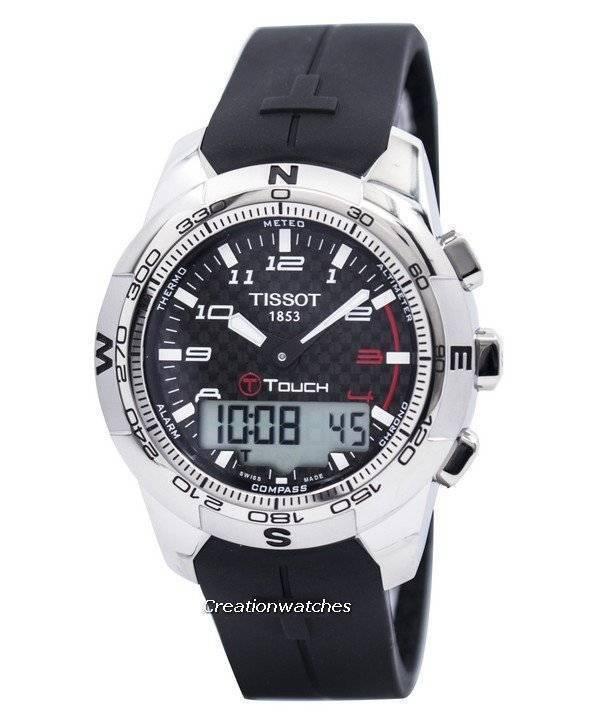 bc222e949c6 Relógio Tissot T-Touch II Titanium T047.420.47.207.00 masculino pt