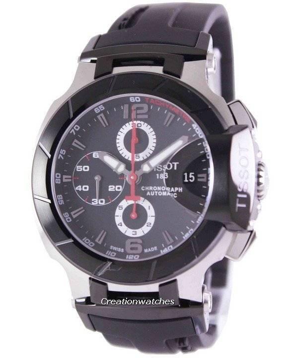 5f9eac9567c Relógio Tissot T-Race cronógrafo automático T048.427.27.057.00 masculino
