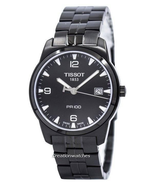 Ρολόι Tissot κλασικό PR 100 T049.410.33.057.00 T0494103305700 ανδρών d3d6652beb0
