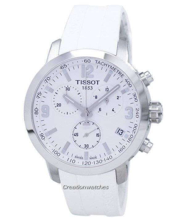 48d15dae39b5 Tissot T-Sport PRC 200 cronógrafo tacógrafo T055.417.17.017.00  T0554171701700 reloj para