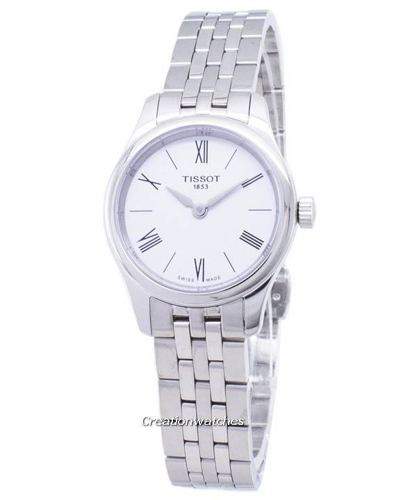 0a13a0f61c4 Reloj Tissot T-Classic tradición 5.5 dama T063.009.11.018.00 T0630091101800  cuarzo mujer
