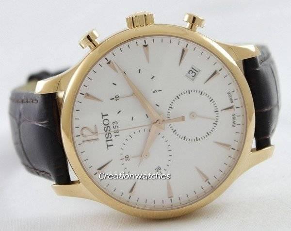 2464e9b35 Tissot T-Classic Tradition Chronograph T063.617.36.037.00 T0636173603700  Men's Watch
