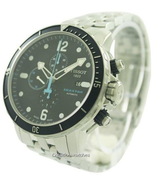 6cb52deb187 Tissot T-Sport Seastar 1000 Automatic Chronograph T066.427.11.057.00  T0664271105700 Men s Watch