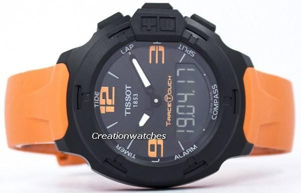 dd6c2154de7 Relógio Tissot T-Race Touch Analógico Digital T081.420.97.057.02  T0814209705702 masculino