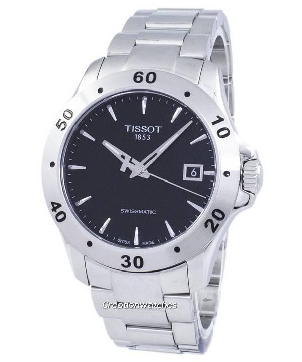 f60d4ad7a65 Relógio Tissot T-Sport V8 automático Swissmatic T106.407.11.051.00  T1064071105100 masculino