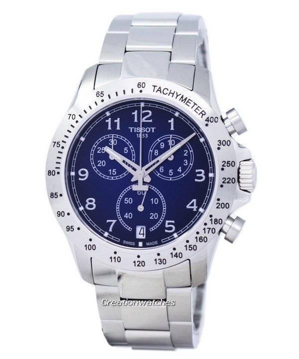 ec180241113 Relógio Tissot T-Sport V8 Chronorgaph quartzo T106.417.11.042.00  T1064171104200 masculino