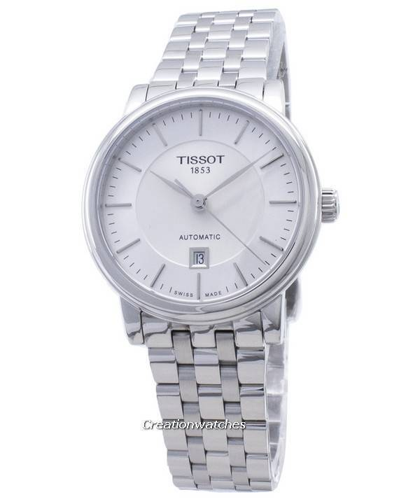 Tissot T Classic Carson T122.207.11.031.00 T1222071103100 Reloj automático para mujeres