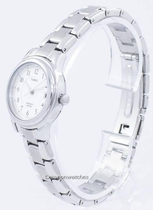 47d6fd621e51 Clásico de Timex Indiglo cuarzo T29271 Watch de Women es
