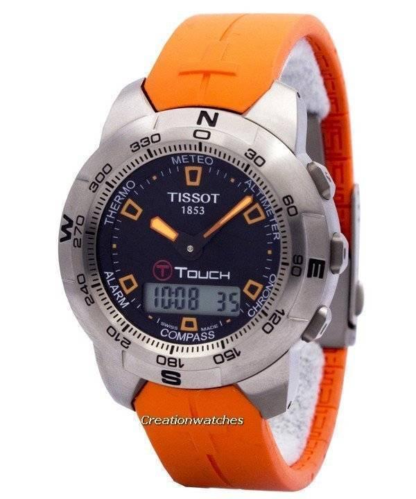 Tissot T-Touch Titanium Multifunction Chronograph T33.7.598.59 T33759859  Mens Watch e32ba51d1