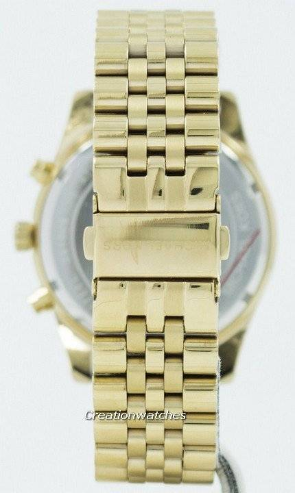 157a5fa708d Refurbished Michael Kors Lexington Chronograph Green Dial MK8446 Men s Watch