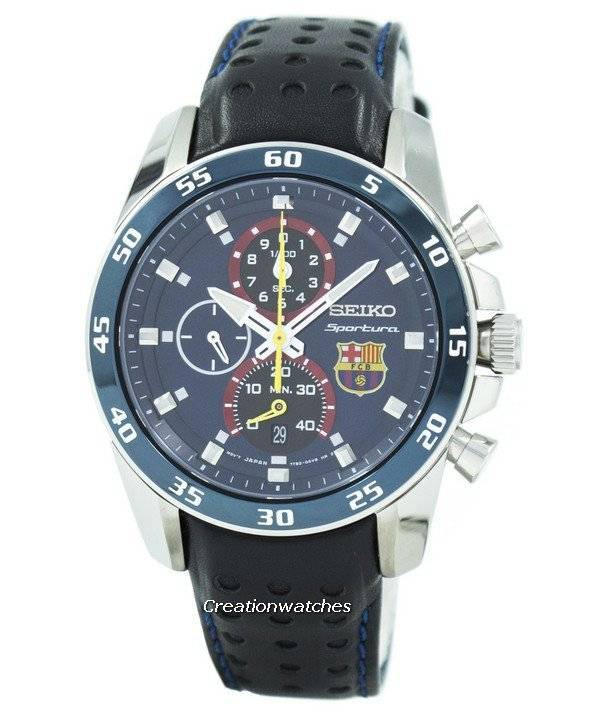 Reloj Seiko Sportura FC Barcelona SPC089 SPC089P1 SPC089P de los hombres de  reformado 6ee3e54b082