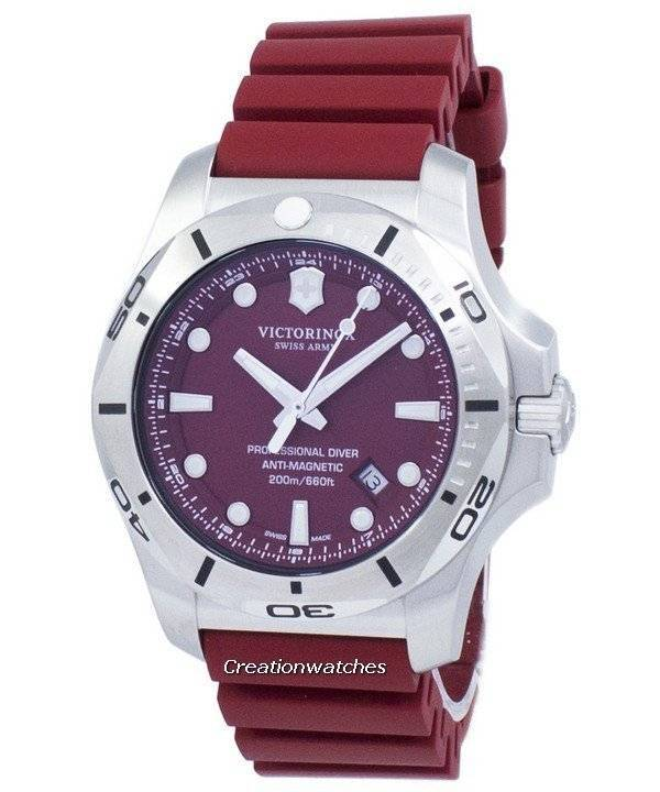 241736 Montre xSwiss o Diver Homme I Victorinox n Quartz Army Professional 200m EWDIH29