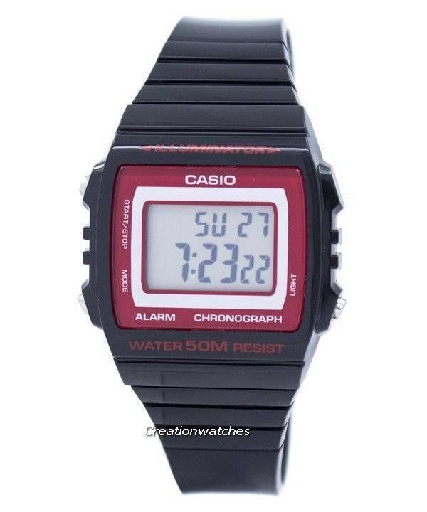 aab6267242c4 Orologio Unisex Casio illuminatore cronografo allarme digitale  W-215H-1A2VDF W215H-1A2VDF