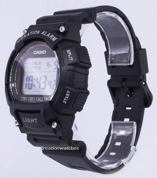 Reloj de hombre Casio Youth Super Illuminator vibración digital W736H 1AV W 736H 1AV