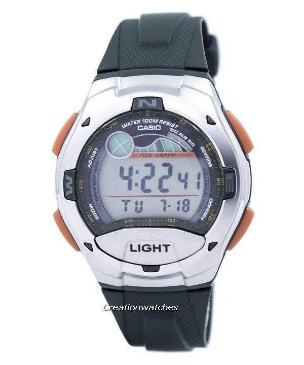 161c767c8519 Casio digital Sports marea gráfico iluminador W-753-3AVDF W753-3AVDF reloj  de