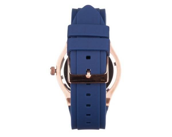 42b2e95a5a9 Acho que a relógio Jet Setter silicone pulseira quartzo W0571L1 feminino
