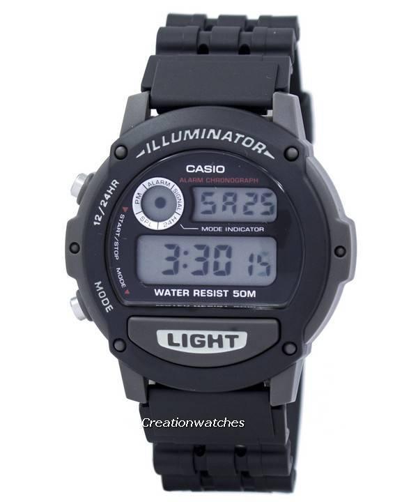 6d54662d32fc Casio Sports Illuminator Alarm Cronógrafo Reloj de hombre digital W87H-1V