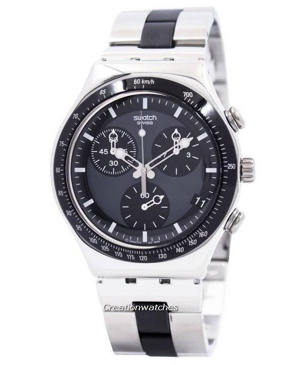 Cuarzo Cronógrafo Windfall Suizo Swatch Irony Ycs410gx Para Reloj Hombre Pnw08Ok