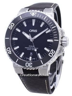 Oris Aquis Date 01 733 7730 4124-07 5 24 10EB 01-733-7730-4124-07-5-24-10EB Automatic 300M Men's watch