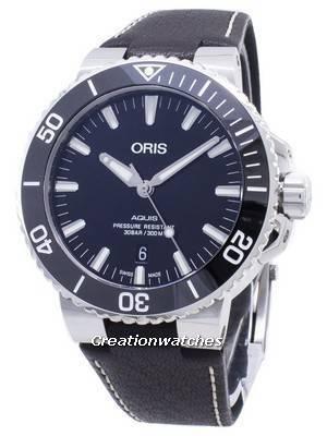 Oris Aquis Date 01 733 7730 4134-07 5 24 10EB 01-733-7730-4134-07-5-24-10EB Automatic 300M Men's Watch