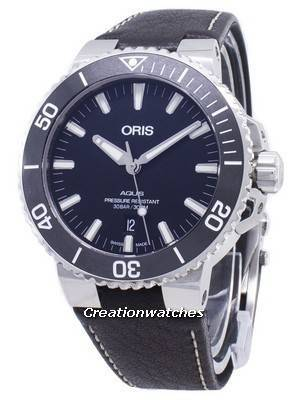 Oris Aquis Date 01 733 7730 4154-07 5 24 10EB 01-733-7730-4154-07-5-24-10EB Automatic 300M Men's Watch