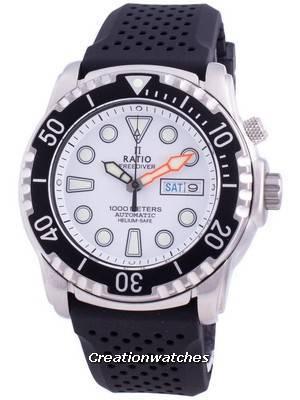 Relogio Free Diver Helium-Safe 1000M Sapphire Automatic 1068HA90-34VA-WHT Relógio de homem