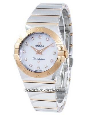 Omega Constellation Diamond Accents Quartz 123.20.27.60.55.003 Women's Watch