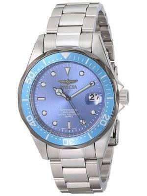 e746af8335c0e The features of Invicta Pro Diver 200M Light Blue Dial INV12813 12813 Men s  Watch are described as follows. This Invicta Men s watch having Mineral  Crystal.
