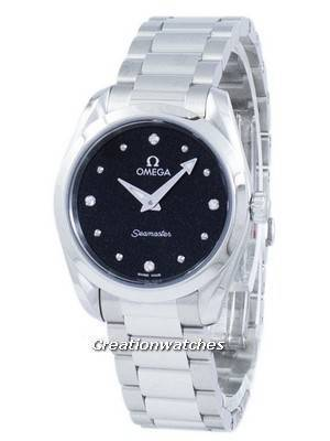 Omega Seamaster Aqua Terra Diamond Accents Quartz 220.10.28.60.51.001 Women's Watch