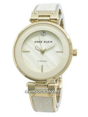 Anne Klein 2512IVGB Diamond Accents Quartz Women's Watch