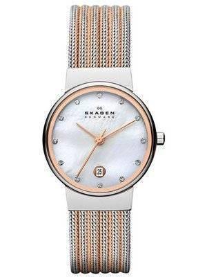 Skagen Ancher Quartz Diamonds Accent 355SSRS Women's Watch