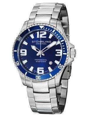 Stuhrling Original Aquadiver Regatta Champion Swiss Quartz 395.33U16 Men's Watch