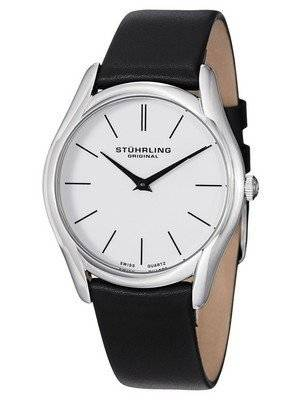 Stuhrling Original Classic Ascot Swiss Quartz White Dial 434.33152 Men\'s Watch