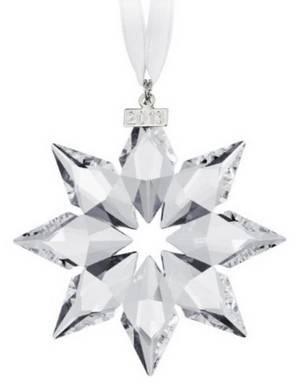 Swarovski 5004489 Annual Edition Crystal Star Ornament
