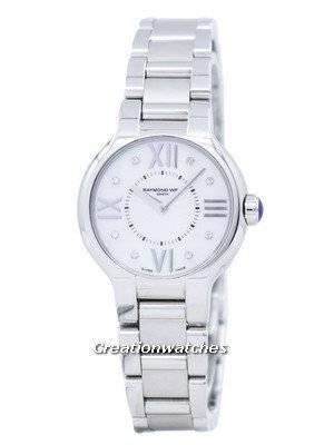 Raymond Weil Noemia Diamond Accent Quartz 5927-ST-00995 Women's Watch