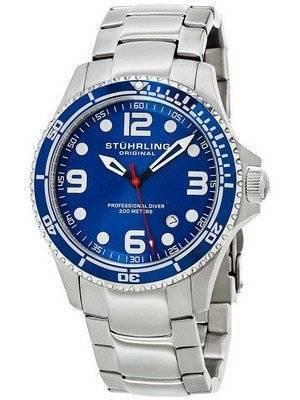 Stuhrling Original Aquadiver Grand Regatta Quartz 593.332U16 Men's Watch