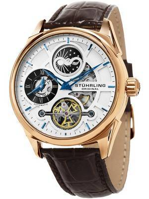 Stuhrling Original Special Reserve Automatic Dual Time 657.04 Men\'s Watch