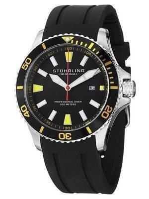 Stuhrling Original Aqua Diver Regatta Quartz 706.04 Men's Watch