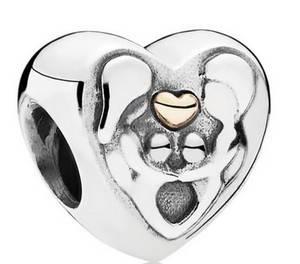 PANDORA 791771 Charme Coração da Família para Mulheres