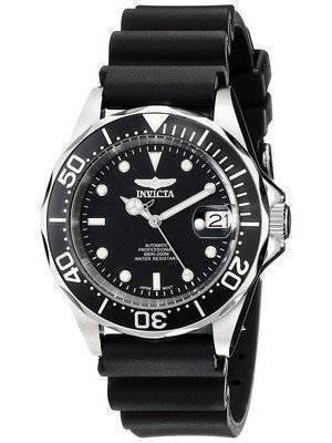 Invicta Pro Diver 200M Automatic Black Rubber 9110 Men's Watch