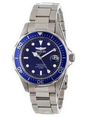 Invicta Pro Diver 200M Quartz Blue Dial 9204 Men's Watch
