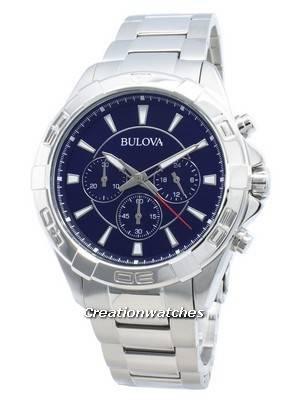 Bulova 96A215 - Relógio de quartzo para homem com cronógrafo