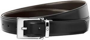 Montblanc-Lea 9774 Men's Reversible Black/Brown Leather Belt