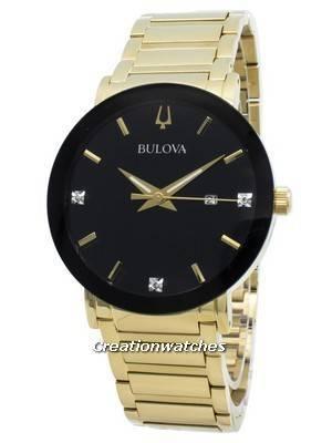 Bulova 97D116 Diamond Accent Quartz Men's Watch