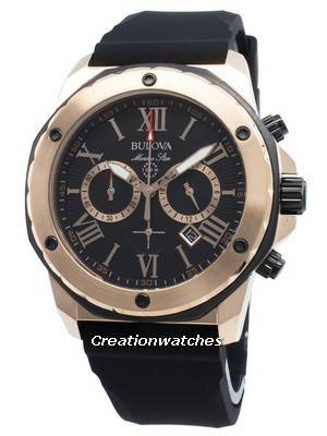 Bulova Marine Star 98B104 Chronograph Quartz Men's Watch