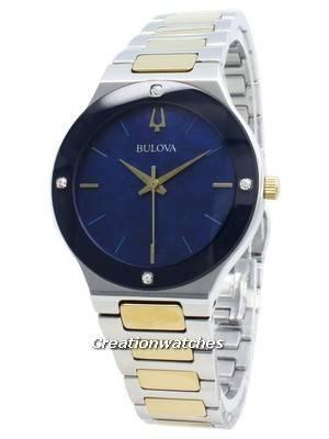 Relógio Bulova 98R273 Diamond Accents Quartz para mulher