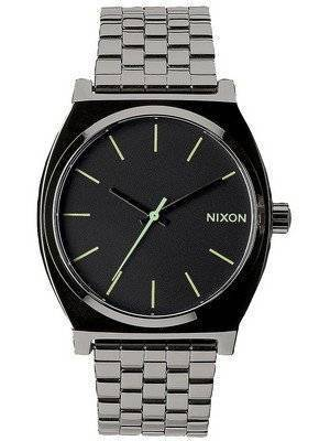Nixon Time Teller Polished Gunmetal A045-1885-00 Men's Watch